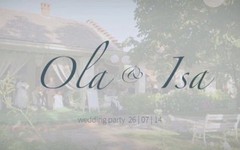 Ola & Isa - The Wedding Party
