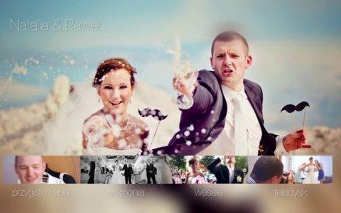 Natalia & Paweł - DVD menu